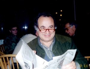 Ronald Koven at the Centers for Pluralism meeting in Tuzla in 1997.